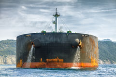 Ship in sea Stock Image