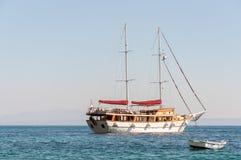 Ship on the sea (horizontal) Stock Photos