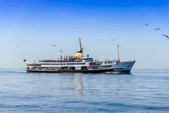 Ship in sea Royalty Free Stock Photos