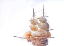 Ship of seashells Stock Photos