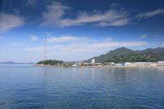 Ship at the Seto Inland Sea Stock Photos