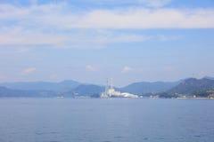 Ship at the Seto Inland Sea Stock Images