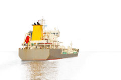 Ship silhouette Royalty Free Stock Images