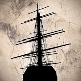Ship silhouette Stock Photo