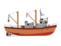 Ship stock illustration