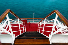 Ship stairs Stock Image