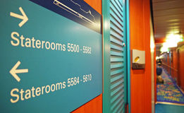Ship Staterooms Royalty Free Stock Photos