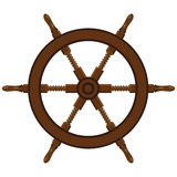 Ship steering wheel Royalty Free Stock Photography
