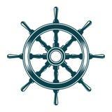 Ship steering wheel Stock Photos