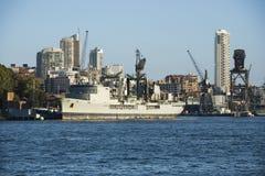 Ship in Sydney, Australia. Stock Images