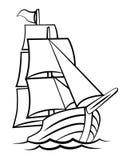 Ship Symbol Royalty Free Stock Photo