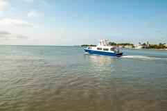 Ship Tender Stock Photo