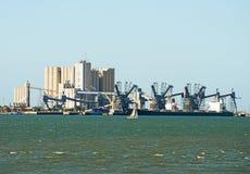 Ship terminal. Stock Image