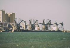 Ship terminal. Royalty Free Stock Photos