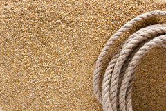 Ship thick rope Royalty Free Stock Photography