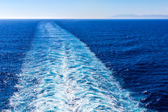 Ship Trace Stock Photography