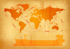 Ship transport Royalty Free Stock Images