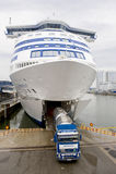 Ship transportation truck Stock Photography