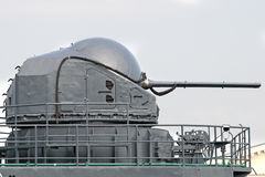 Ship turret Stock Images