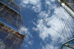 ship under the sky Stock Photo