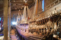 Ship Vasa in the Vasamuseet Stock Photo