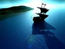 Ship View 24 Royalty Free Stock Photography