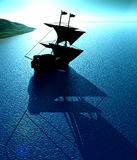 Ship View 25 Royalty Free Stock Photography