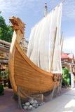 ship viking Arkivfoton