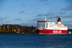 The ship of Viking Line company - Mariella Stock Photos