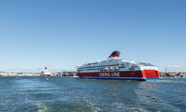 Ship Viking Line Royalty Free Stock Images