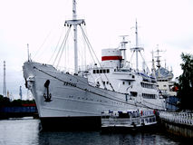 Ship Vityaz in Kaliningrad Royalty Free Stock Photography