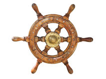 Ship wheel Royalty Free Stock Photos