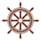 Ship wheel. An illustration of ship wheel, steering Royalty Free Stock Photo