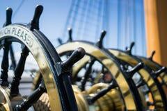 Ship wheels royalty free stock image