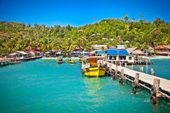 Free Ship While On Koh Rong Island, Cambodia. Stock Images - 86120314
