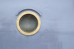 Ship window Royalty Free Stock Images