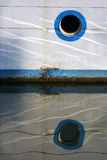 Ship window Royalty Free Stock Image