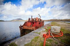 Ship Wreck Royalty Free Stock Images