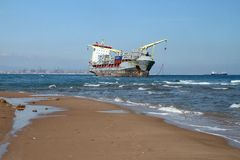 Ship wreck Stock Photography