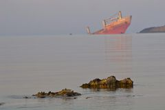 Ship wreck Royalty Free Stock Photos