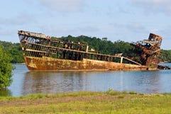 Ship wreck Royalty Free Stock Photo