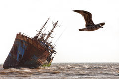 Ship-wreck Royalty Free Stock Photo