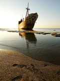 Ship Wreck M/V Dimitrios Royalty Free Stock Photo