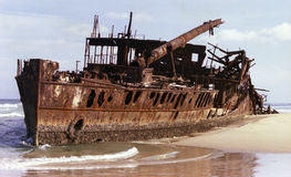 Ship wreck Royalty Free Stock Photo