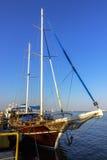 Ship yacht Royalty Free Stock Photo