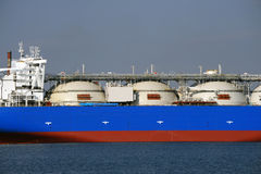 Ship yard Stock Image