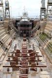 Ship Yard Stock Photography