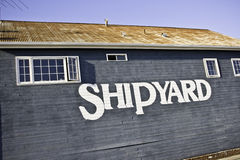 The Ship Yard Stock Image