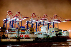 Ship Yards Royalty Free Stock Photos
