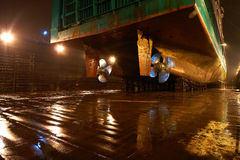 Shipbuilding bolts Royalty Free Stock Photos